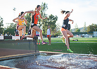 Day 1 of the 2015 SCIAC Track and Field Championships hosted by Occidental College, May 1, 2015.<br /> (Photo by Kirby Lee, freelance photographer)