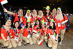 volunteer, <br /> AUGUST 18, 2018 - Opening Ceremony : <br /> Opening Ceremony <br /> at Gelora Bung Karno Main Stadium <br /> during the 2018 Jakarta Palembang Asian Games <br /> in Jakarta, Indonesia. <br /> (Photo by Naoki Nishimura/AFLO SPORT)