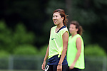 CARY, NC - MAY 18: Yuri Kawamura. The North Carolina Courage held a training session on May 18, 2017, at WakeMed Soccer Park Field 5 in Cary, NC.