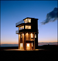 Holidays on the edge - Dungeness lookout tower for rent.