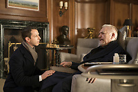 SUCCESSION (season 1)<br /> JEREMY STRONG, BRIAN COX<br /> *Filmstill - Editorial Use Only*<br /> CAP/FB<br /> Image supplied by Capital Pictures