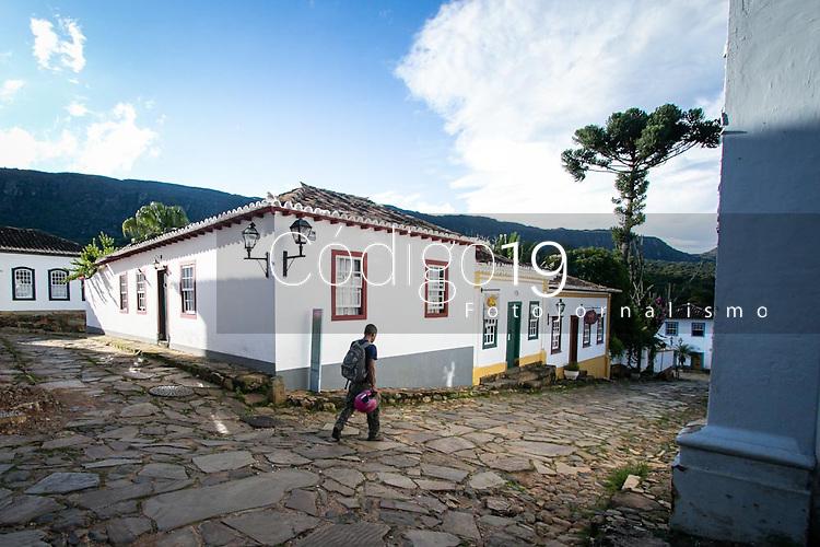 Tiradentes (MG) 04/04/20 Cidade de Tiradentes ,  a 200 km de Belo Horizonte,  é fechada ao turismo com decreto municipal em prevenção ao Corona Virus neste sábado (04)