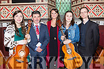 Musicians Lorraine Nash, Grace Foley, Sarah Finnan and Tony O'Flaherty with Mayor Michael O'Shea who played in St Mary's Church Killarney to celebrate Culture night on Friday