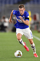 Jakub Jankto of UC Sampdoria in action during the Serie A football match between AS Roma and UC Sampdoria at Olimpico stadium in Rome ( Italy ), June 24th, 2020. Play resumes behind closed doors following the outbreak of the coronavirus disease. AS Roma won 2-1 over UC Sampdoria. <br /> Photo Andrea Staccioli / Insidefoto