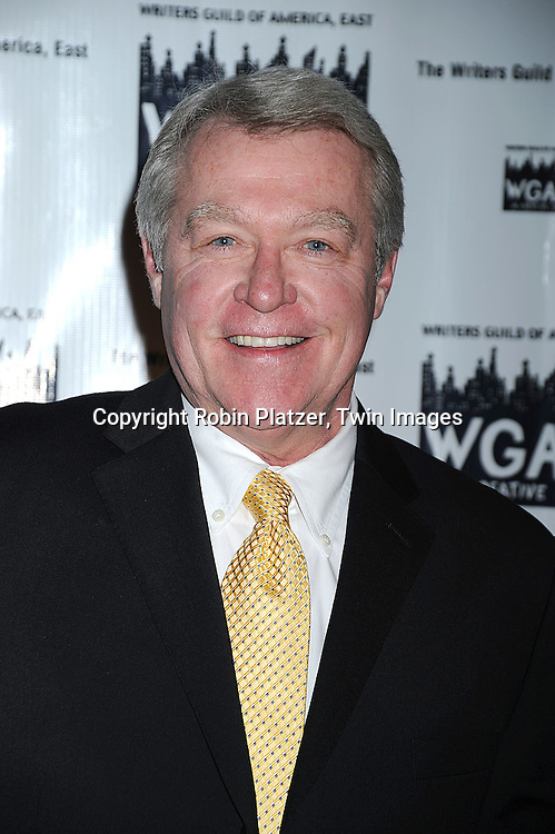 actor Jerry verDorn of One Life to Live..attending The 61st Annual Writer's Guild Awards on February 7, 2009 at The Hudson Theatre at The Millennium Broadway Hotel in New York City.....Robin Platzer, Twin Images