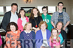 Going Well<br /> ---------------<br /> Margaret Murphy, Newmarket, seated front, celebrated her 80th birthday last Saturday afternoon in O'Riada's, Ballymac, Tralee along with her family. Front L-R Joan, Ann, Margaret, Sara and Margie Murphy. back L-R Eugene,Dora&amp;Sammy Murphy with Manus&amp;Ronan O'Keeffe.