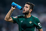 Antonio Barragan Fernandez of Real Betis drinks water during the La Liga 2017-18 match between Real Madrid and Real Betis at Estadio Santiago Bernabeu on 20 September 2017 in Madrid, Spain. Photo by Diego Gonzalez / Power Sport Images