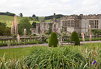 View of Haddon Hall and the Lower Garden from the Upper Garden