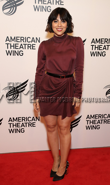 Krysta Rodriguez attends The American Theatre Wing's 2019 Gala at Cipriani 42nd Street on September 16, 2019 in New York City.