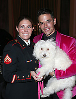LOS ANGELES, CA - NOVEMBER 9: Megan Leavey, Dr.John Sessa, at the 2nd Annual Vanderpump Dog Foundation Gala at the Taglyan Cultural Complex in Los Angeles, California on November 9, 2017. Credit: November 9, 2017. Credit: Faye Sadou/MediaPunch