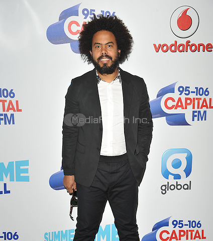Jillionaire at the Capital FM Summertime Ball in aid of the Help a London Child charity, Wembley Stadium, Wembley, London, England, UK, on Saturday 11 June 2016.<br /> CAP/CAN<br /> &copy;CAN/Capital Pictures /MediaPunch ***NORTH AND SOUTH AMERICA ONLY***