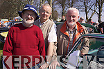 Rally: Enjoying the day at the Killarney Easter Vintage Rally on Sunday were Mike Lynch, Listowel, Michael Moloney, Dromtacker, and Joe Brennan, Kilflynn..