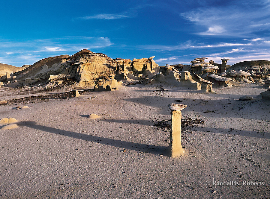 Bisti / De-Na-Zin Wilderness (Bisti Badlands) in Northwest New Mexico