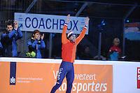 SHORTTRACK: DORDRECHT: Sportboulevard Dordrecht, 24-01-2015, ISU EK Shorttrack, Podium 1500m Men, Daan BREEUWSMA (NED), ©foto Martin de Jong