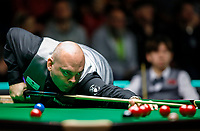 26th November 2019; York, England;  Stuart Bingham of England competes during the UK Snooker Championship 2019 first round match with Lei Peifan of China in York on Nov. 26, 2019.