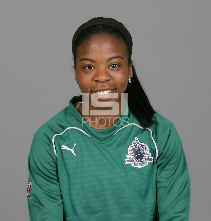 Sheree Gray, St Louis Athletica Head Shots, 2009.