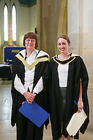Officials who help organise the degree ceremony, University of Surrey.