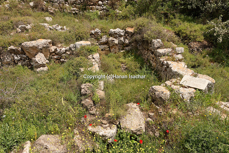 Samaria, archeological remnants in Tel Shiloh