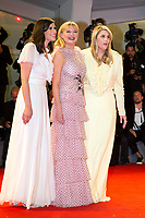 Kate Mulleavy, Kirsten Dunst, Laura Mulleavy at the &quot;Woodshock&quot; premiere, 74th Venice Film Festival in Italy on 4 September 2017.<br /> <br /> Photo: Kristina Afanasyeva/Featureflash/SilverHub<br /> 0208 004 5359<br /> sales@silverhubmedia.com