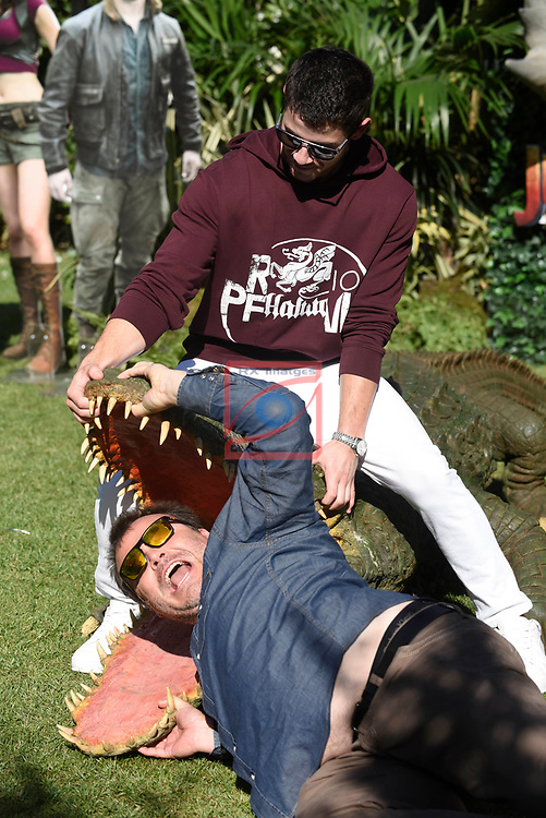 Europe Photo-Calls.<br /> JUMANJI: Welcome to the Jungle.<br /> Jack Black &amp; Nick Jonas.