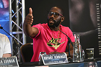 Bryant Jennings during a Press Conference at Intercontinental Hotel O2 on 5th June 2019
