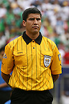 10 June 2007: Referee Walter Quezada (CRC). The Honduras Men's National Team defeated the National Team of Mexico 2-1 at Giants Stadium in East Rutherford, New Jersey in a first round game in the 2007 CONCACAF Gold Cup.