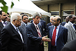 Palestinian President Mahmoud Abbas (Abu Mazen) during the opening of the Palestinian embassy in the Ethiopian capital Addis Ababa on July 7,2010. Photo by Omar Rashidi