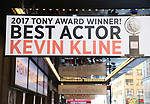 Tony Award flare for Kevin Kline 'Present Laughter' Marquee