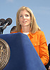 Caroline Kennedy Schlossberg                             .at the announcement of a concert by Dave Matthews Band on September 12,2003 in Central Park. Photo by Robin Platzer, Twin Images. The concert will be on Seotember 24, 2003