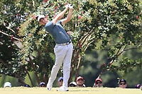 Rory McIlroy (NIR) tees off the 2nd tee during Saturday's Round 3 of the 2017 PGA Championship held at Quail Hollow Golf Club, Charlotte, North Carolina, USA. 12th August 2017.<br /> Picture: Eoin Clarke | Golffile<br /> <br /> <br /> All photos usage must carry mandatory copyright credit (&copy; Golffile | Eoin Clarke)