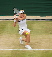 Agnieszka Radwanska<br /> <br /> Tennis - The Championships Wimbledon  - Grand Slam -  All England Lawn Tennis Club  2013 -  Wimbledon - London - United Kingdom -Saturday  1st July 2013. <br /> &copy; AMN Images, 8 Cedar Court, Somerset Road, London, SW19 5HU<br /> Tel - +44 7843383012<br /> mfrey@advantagemedianet.com<br /> www.amnimages.photoshelter.com<br /> www.advantagemedianet.com<br /> www.tennishead.net