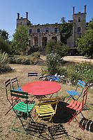 Europe/France/Midi-Pyrénées/46/Lot/Env de Sauliac-sur-Célé/Cuzals: Musée de plein air du Quercy, Le Chateau