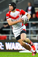Picture by Alex Whitehead/SWpix.com - 01/05/2014 - Rugby League - First Utility Super League - St Helens v London Broncos - Langtree Park, St Helens, England - St Helens' Jonny Lomax.