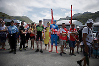 super heroes are entitled to breaks too up the Col de Glandon (HC/1924m/21.7km@5.1%)<br /> <br /> stage 18: Gap - St-Jean-de-Maurienne (187km)<br /> 2015 Tour de France
