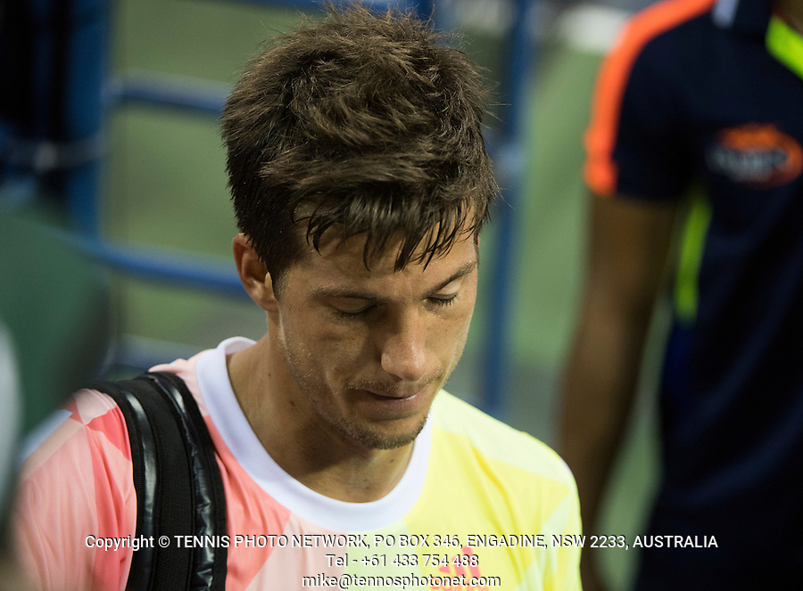 ALJAZ BEDENE (GBR)<br /> <br /> TENNIS - THE US OPEN - FLUSHING MEADOWS - NEW YORK - ATP - WTA - ITF - GRAND SLAM - OPEN - NEW YORK - USA - 2016  <br /> <br /> <br /> <br /> &copy; TENNIS PHOTO NETWORK