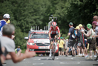 Tony Gallopin (FRA/Lotto-Soudal)<br /> <br /> Stage 18 (ITT) - Sallanches &rsaquo; Meg&egrave;ve (17km)<br /> 103rd Tour de France 2016