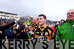 Conor Jordon Austin Stacks players celebrate winning the Kerry Senior County Football Final at Fitzgerald Stadium on Sunday.