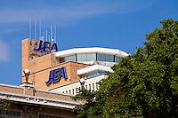 JEA headquarters is seen in Jacksonville, Florida Friday April 26, 2013. JEA (formerly Jacksonville Electric Authority) is the seventh largest community-owned electric utility company in the United States and largest in Florida.
