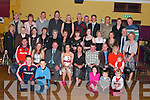Niamh Normoyle, seated centre from Killeaney, Glin celebrated her 21st birthday with family and friends in The Gables Restaurant Athea on Saturday night.   Copyright Kerry's Eye 2008