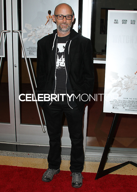 HOLLYWOOD, LOS ANGELES, CA, USA - JUNE 09: Moby at the Los Angeles Premiere Of Sony Pictures Classics' 'Third Person' held at the Linwood Dunn Theater at the Pickford Center for Motion Study - Academy of Motion Picture Arts and Sciences on June 9, 2014 in Hollywood, Los Angeles, California, United States. (Photo by Xavier Collin/Celebrity Monitor)