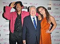Jordan Stephens, Derren Nesbitt and April Pearson at the &quot;Tucked&quot; London film premiere, Cineworld Leicester Square, Leicester Square, London, England, UK, on Tuesday 14th May 2019.<br /> CAP/CAN<br /> &copy;CAN/Capital Pictures