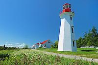 Cap-de-Bon-Désir Lighthouse<br /> Cap-de-Bon-Désir<br /> Quebec<br /> Canada