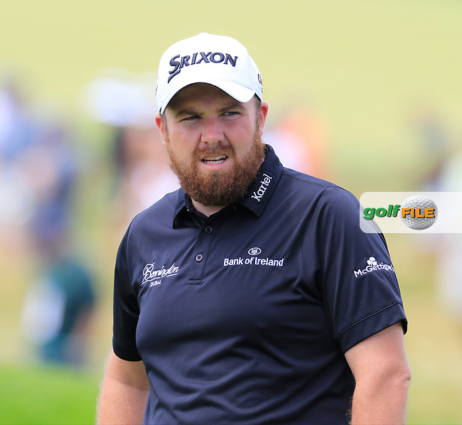 Shane Lowry (IRL) at the 10th green during Wednesday's Practice Day of the 2016 U.S. Open Championship held at Oakmont Country Club, Oakmont, Pittsburgh, Pennsylvania, United States of America. 15th June 2016.<br /> Picture: Eoin Clarke   Golffile<br /> <br /> <br /> All photos usage must carry mandatory copyright credit (&copy; Golffile   Eoin Clarke)
