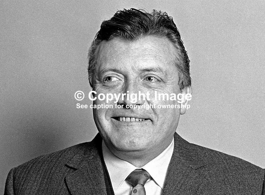 James O'Kane, councillor, Republican Labour Party, Belfast Corporation, N Ireland, 197101010049b<br />