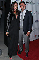 "HOLLYWOOD, LOS ANGELES, CA, USA - APRIL 08: Christina McLarty, David Arquette at the Indian Film Festival Of Los Angeles 2014 - Opening Night Screening Of ""Sold"" held at ArcLight Cinemas on April 8, 2014 in Hollywood, Los Angeles, California, United States. (Photo by Xavier Collin/Celebrity Monitor)"