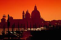 Santa Maria Della Salute, Sunset, Venice, Italy