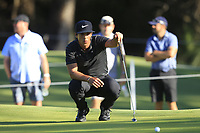 Thorbjorn Olesen (DEN) in action on the 12th during Round 2 of the ISPS Handa World Super 6 Perth at Lake Karrinyup Country Club on the Friday 9th February 2018.<br /> Picture:  Thos Caffrey / www.golffile.ie<br /> <br /> All photo usage must carry mandatory copyright credit (&copy; Golffile | Thos Caffrey)