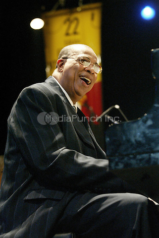 Dionisio Jesús Valdés Rodríguez, professionally known as 8-time Grammy winner Chucho Valdés pictured in 2005.. Credit: Jorge Rey/MediaPunch