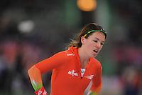 SCHAATSEN: HAMAR: Vikingskipet, 11-01-2014, Essent ISU European Championship Allround, 3000m Ladies, Diane Valkenburg, ©foto Martin de Jong