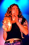 Led Zeppelin 1971 Robert Plant.© Chris Walter.